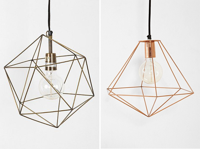 Diy Inspiration Geometric Lights Diy In Pdx