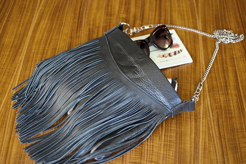 How To Make A Fringed Leather Bag Diy In Pdx