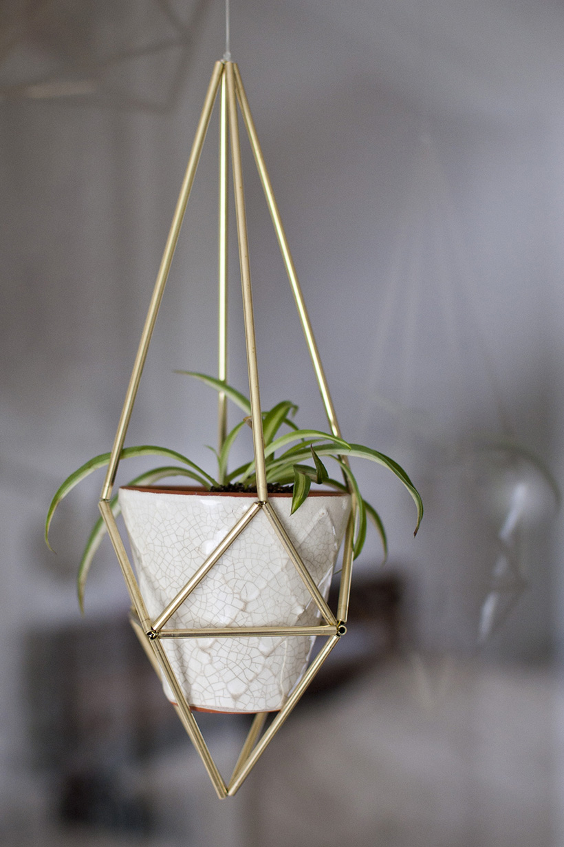 how to make ahanging plant stand