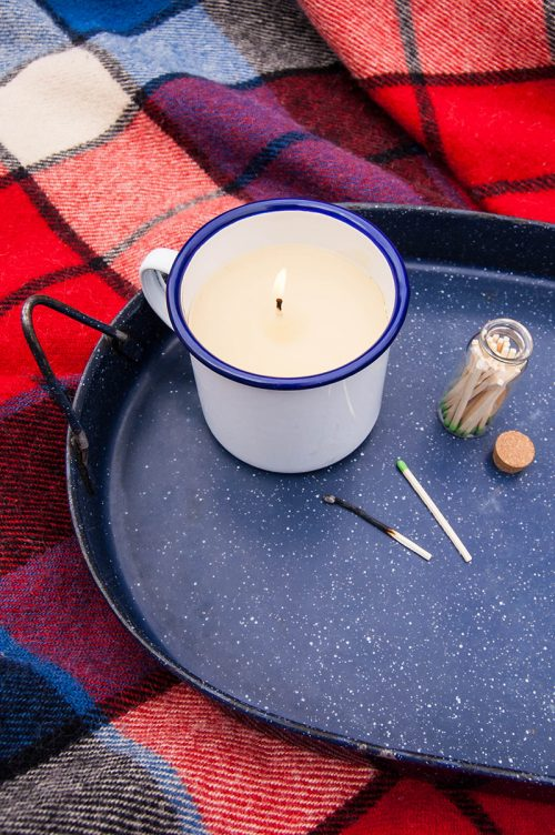 How to Make DIY Citronella Candles - Keep pests at bay with these homemade mosquito-repelling candles.