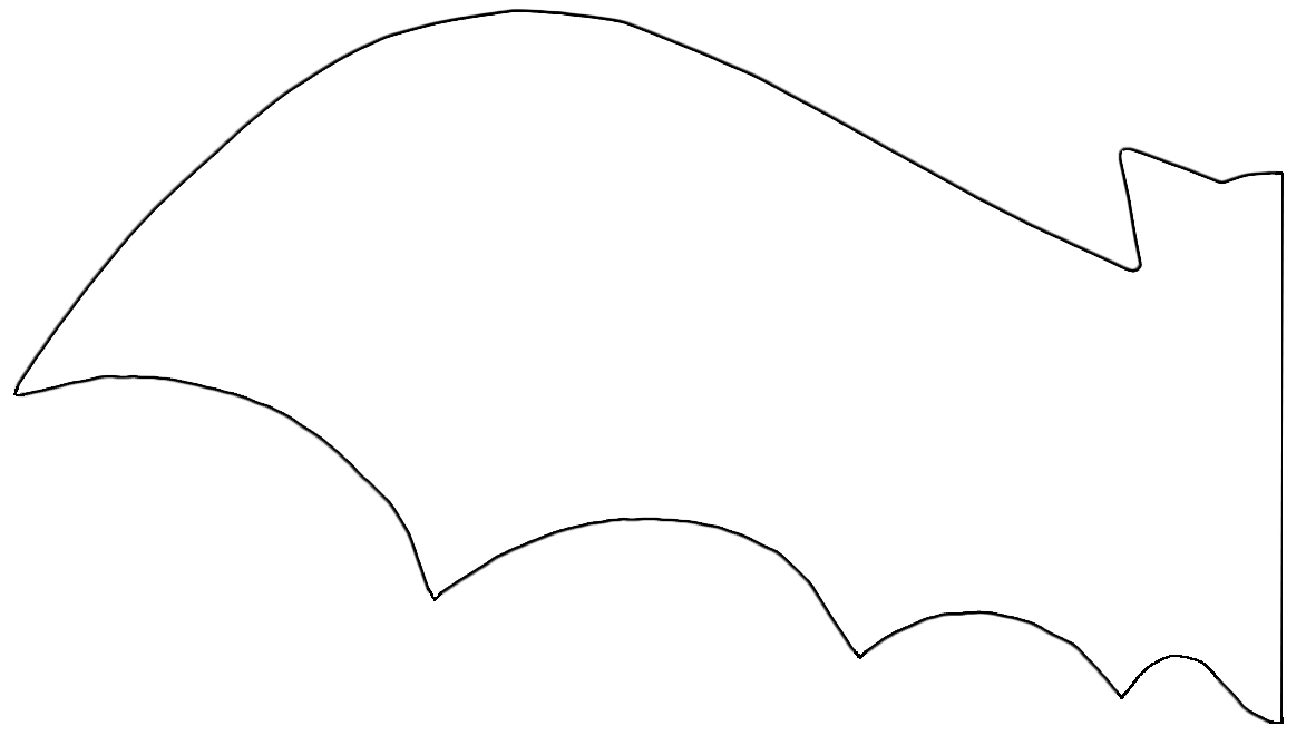 Magic image intended for bat template printable