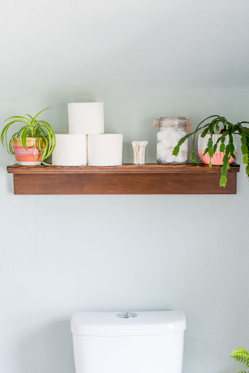 How to Make a Simple Shelf Ledge - DIY in PDX