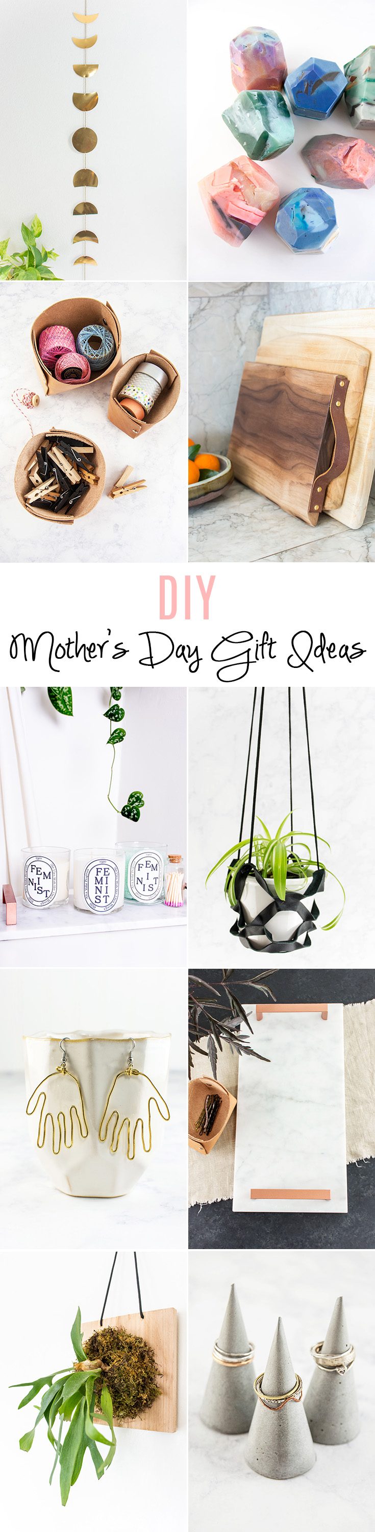 Want to make your mom a DIY gift? Here are 10 Mother's Day gifts you can make yourself.